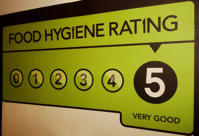 food safety policies help achieve your rating