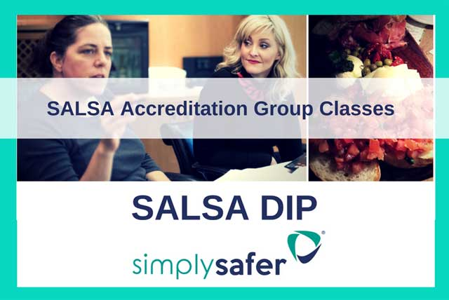 simply safer - SALSA dip - accreditation training course