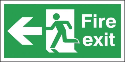 fire safety - green man image